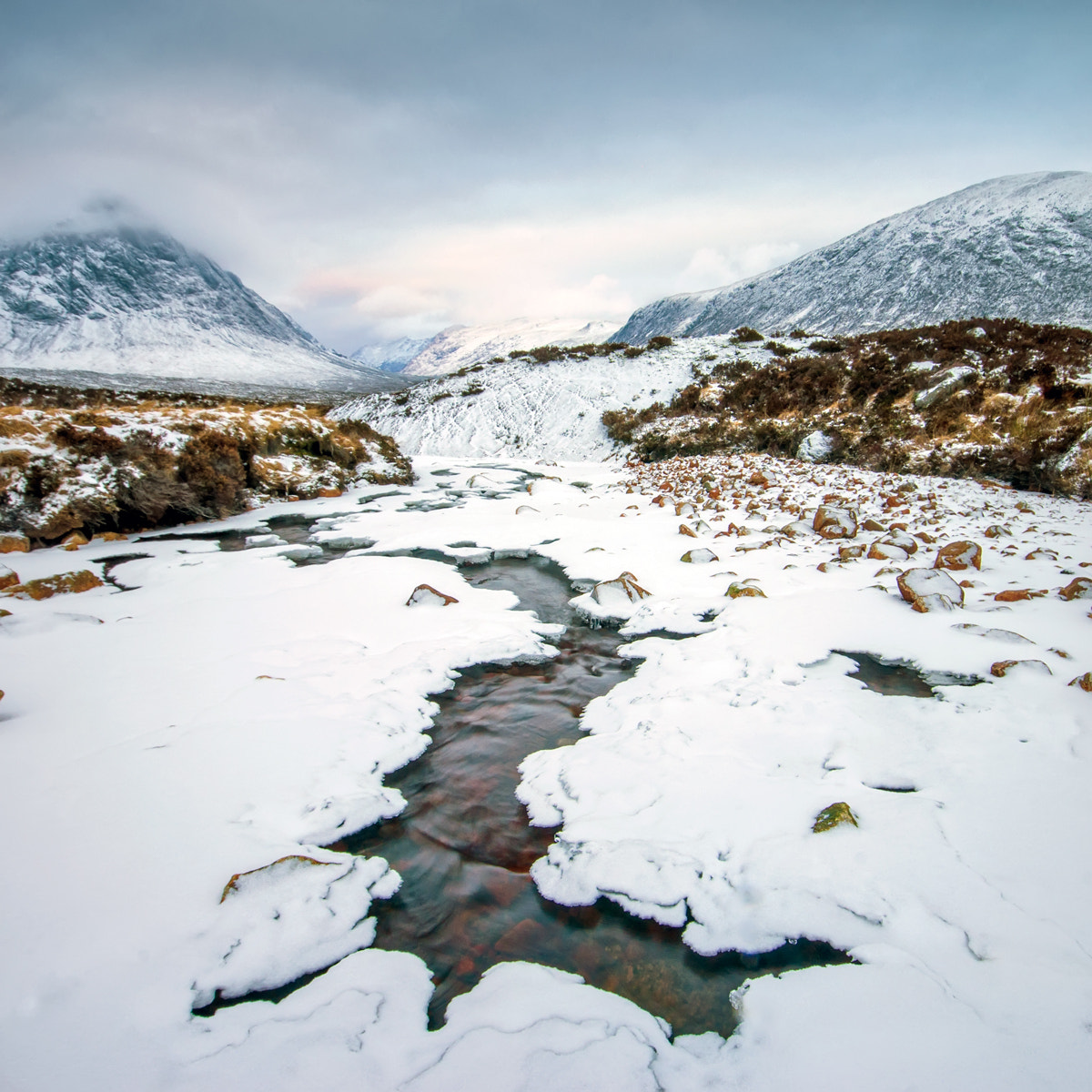 Photograph Rannoch Moor Winter... by David Mould on 500px