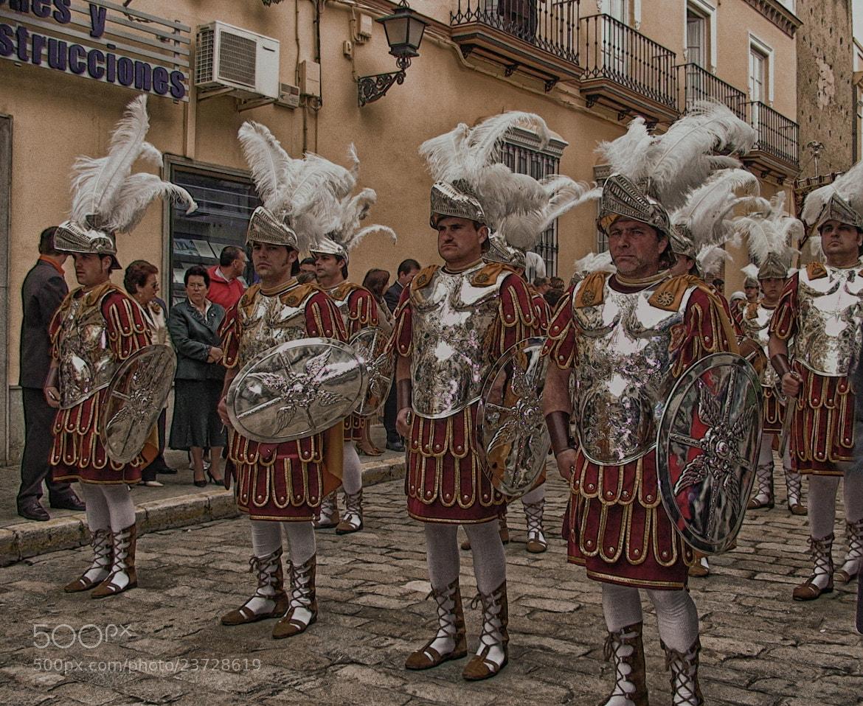 Photograph Centuria romana by Lola Camacho on 500px