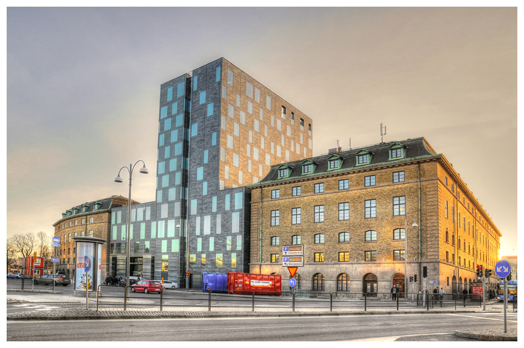 Photograph Backside of the Clarion hotel post Gothenburg... by Almqvist Photo on 500px