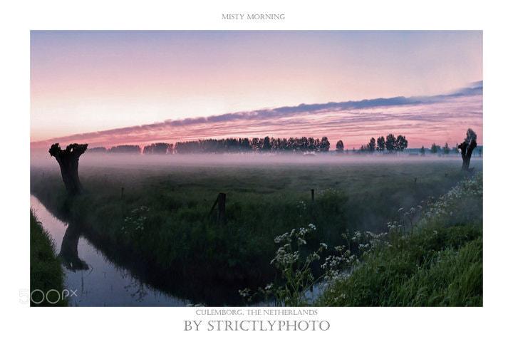 Photograph morning mist by Patrick Strik on 500px
