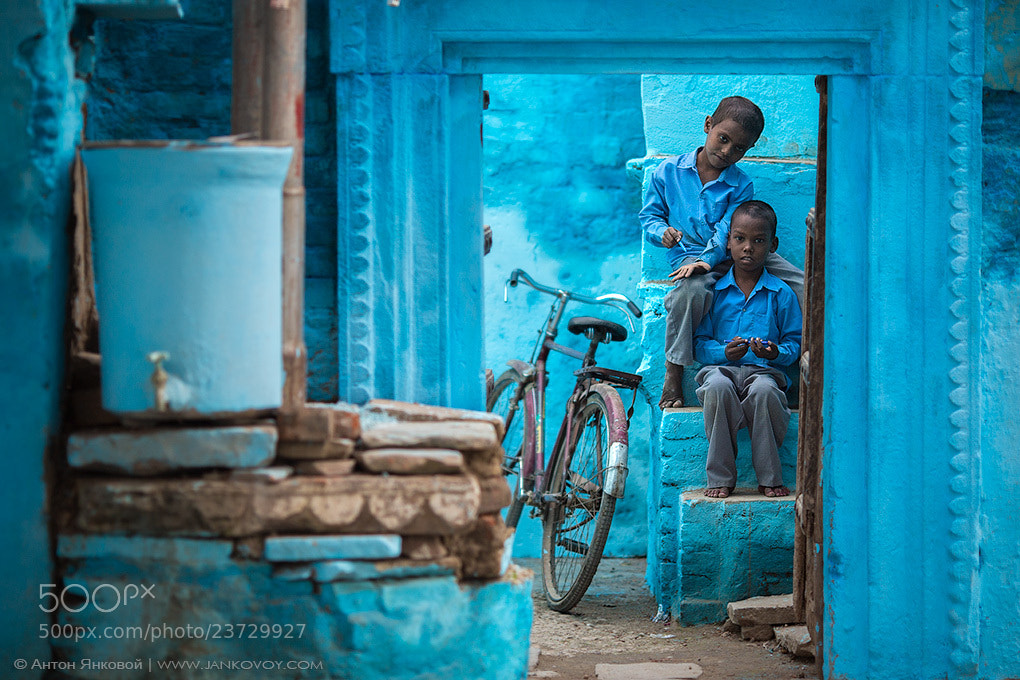 Photograph Blue Varanasi by Anton Jankovoy on 500px