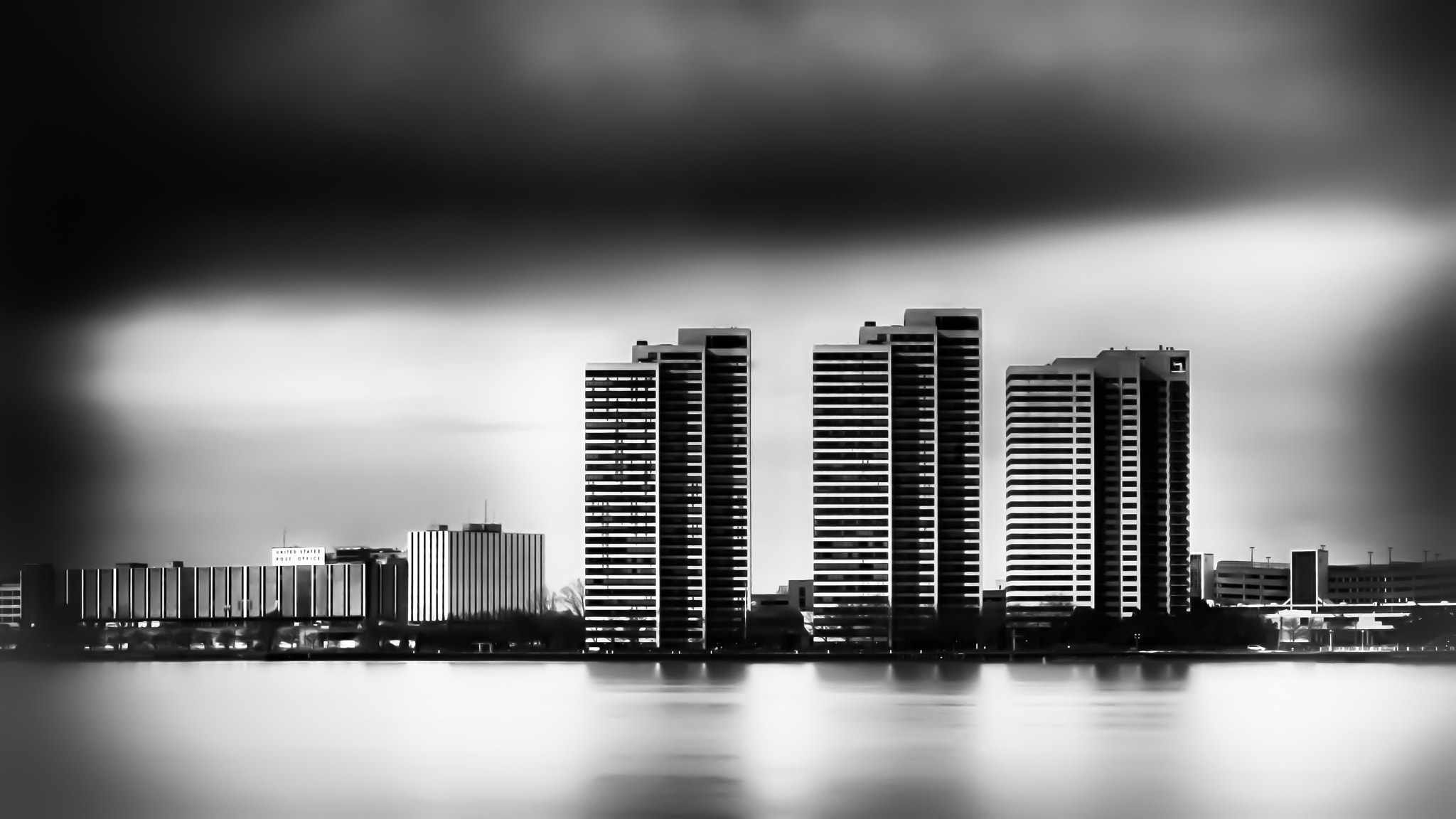 Photograph Riverfront Towers - High Contrast by Steven Wosina on 500px