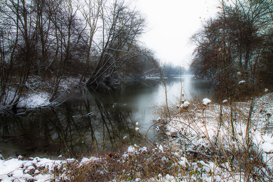 Photograph frost seine by Clotilde Hulin on 500px