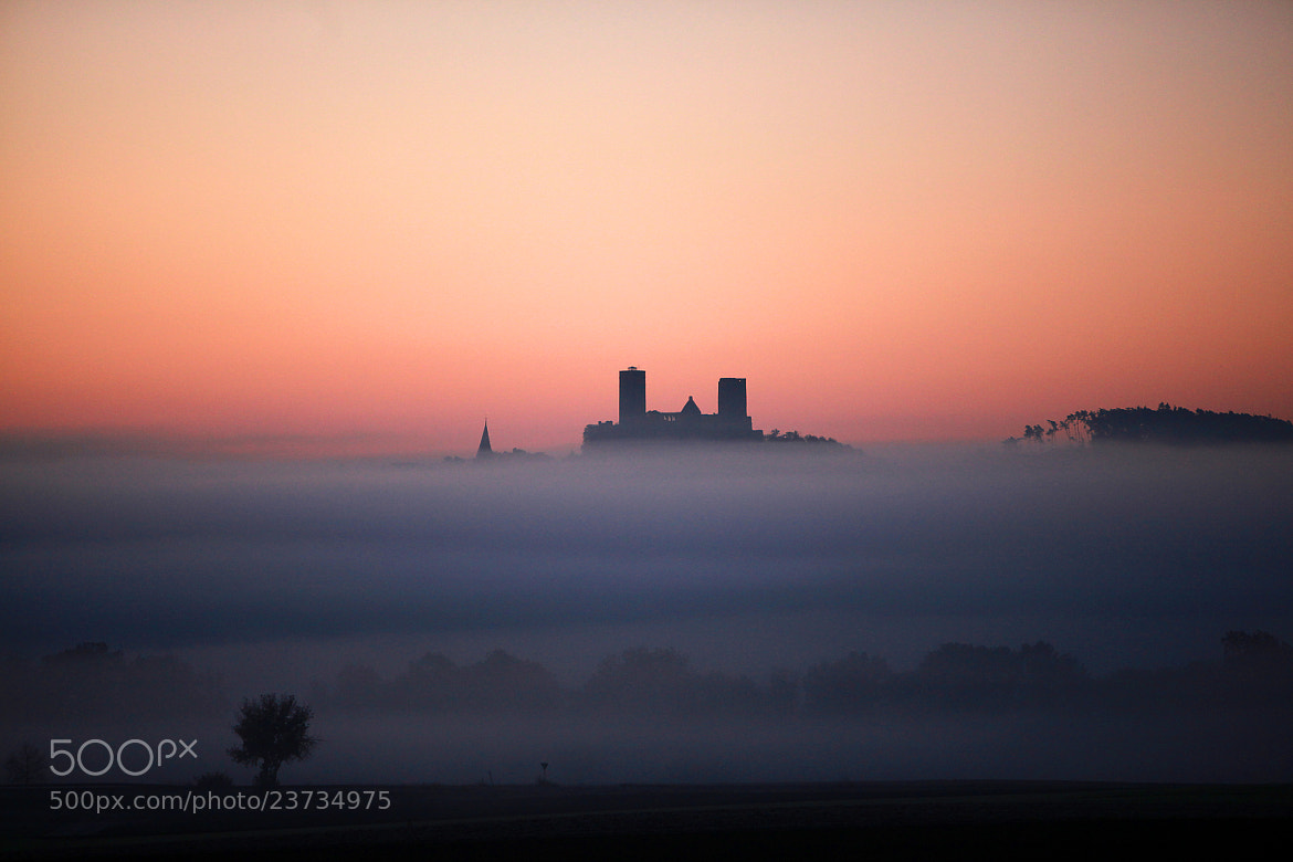 Photograph Foggy Chateau by Thomas van de Wall on 500px