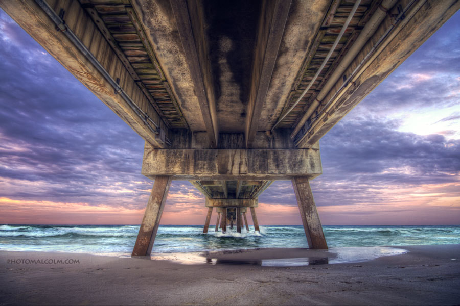 Photograph Under the Okaloosa Island Fishing Pier by Malcolm MacGregor on 500px