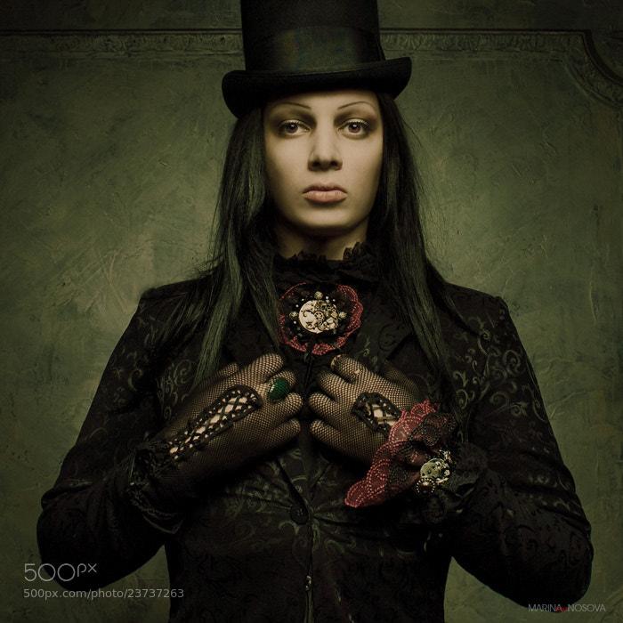 "Photograph Steampunk Portrait VI by Marina ""Loki"" Nosova on 500px"