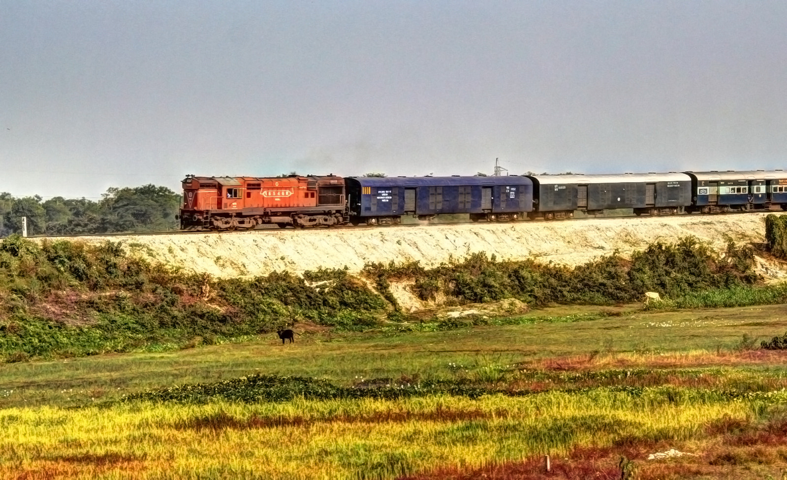 Photograph The Indian Railway by Santanu Banerjee on 500px