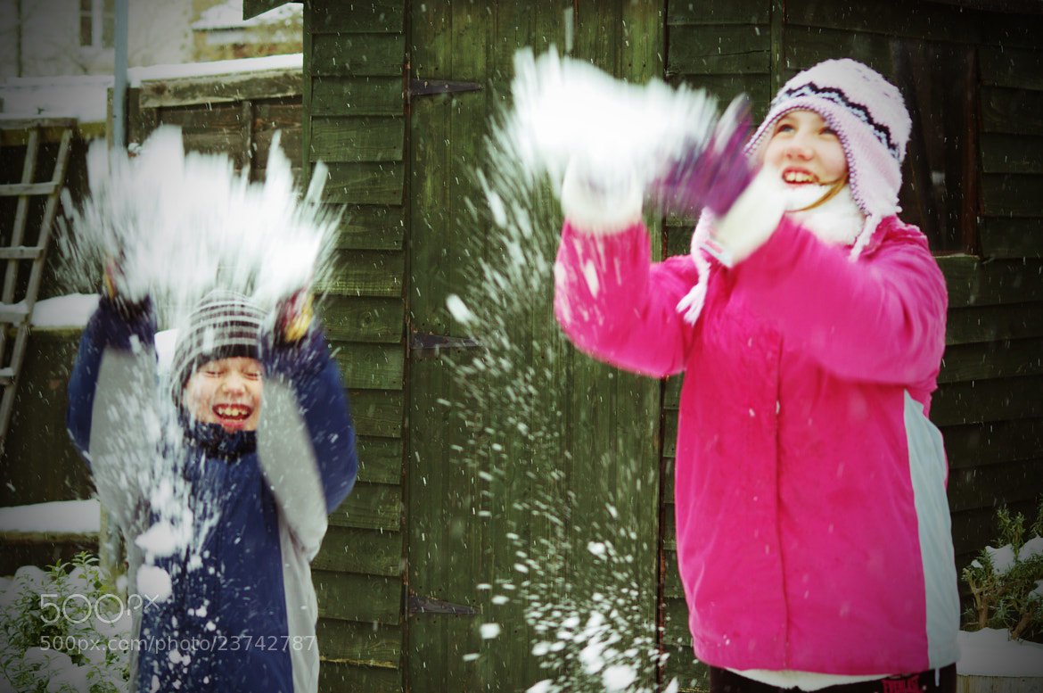 Photograph Snow Kids by Lee Ashman on 500px