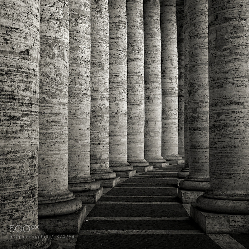 Photograph Repetition at the Vatican by Carlos Gotay on 500px