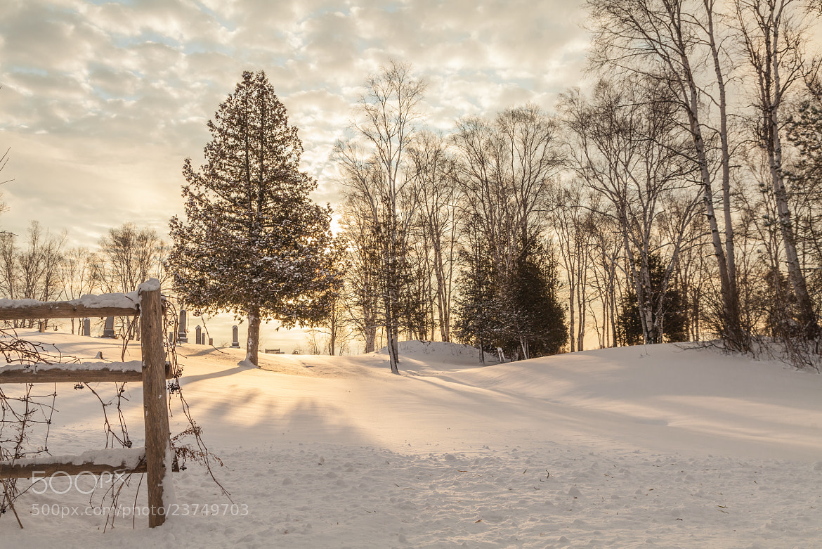Photograph Winter Sunset by Michael Lishansky on 500px