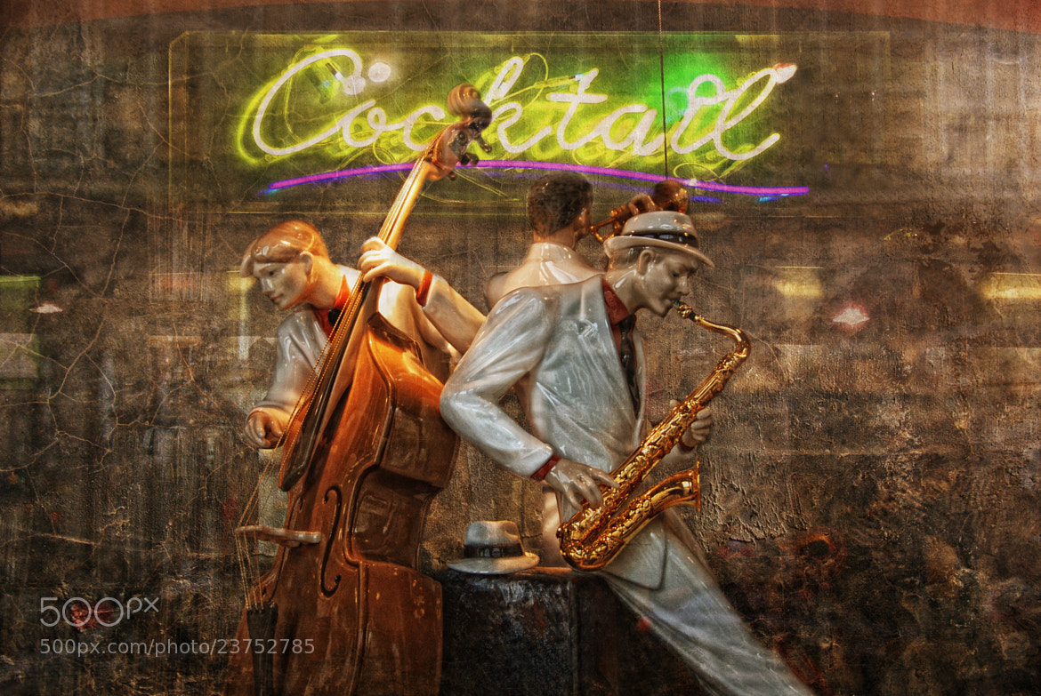Photograph fifties cocktail jazz by Joachim G.  Pinkawa on 500px