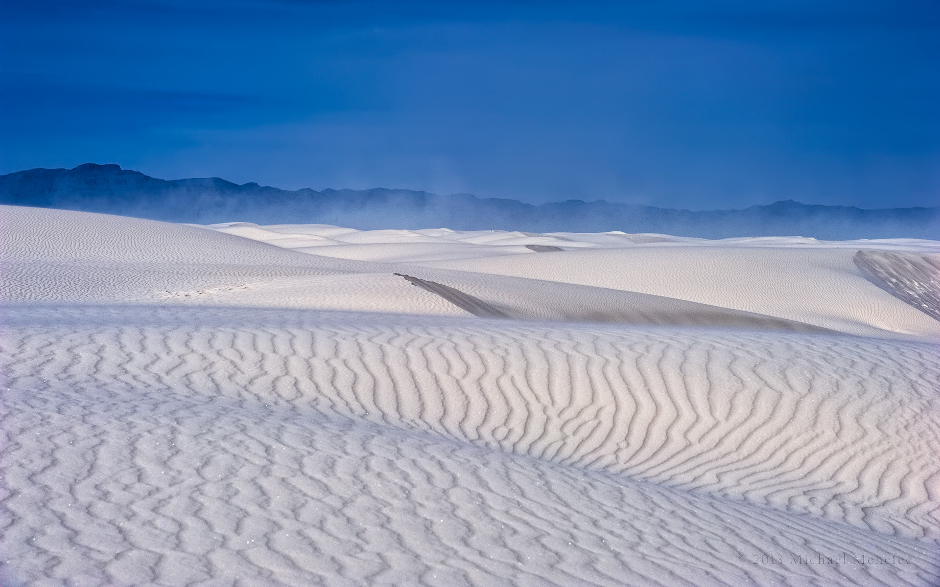 Photograph Tempestuous Dunes of White Sands National Monument by Michael Menefee on 500px
