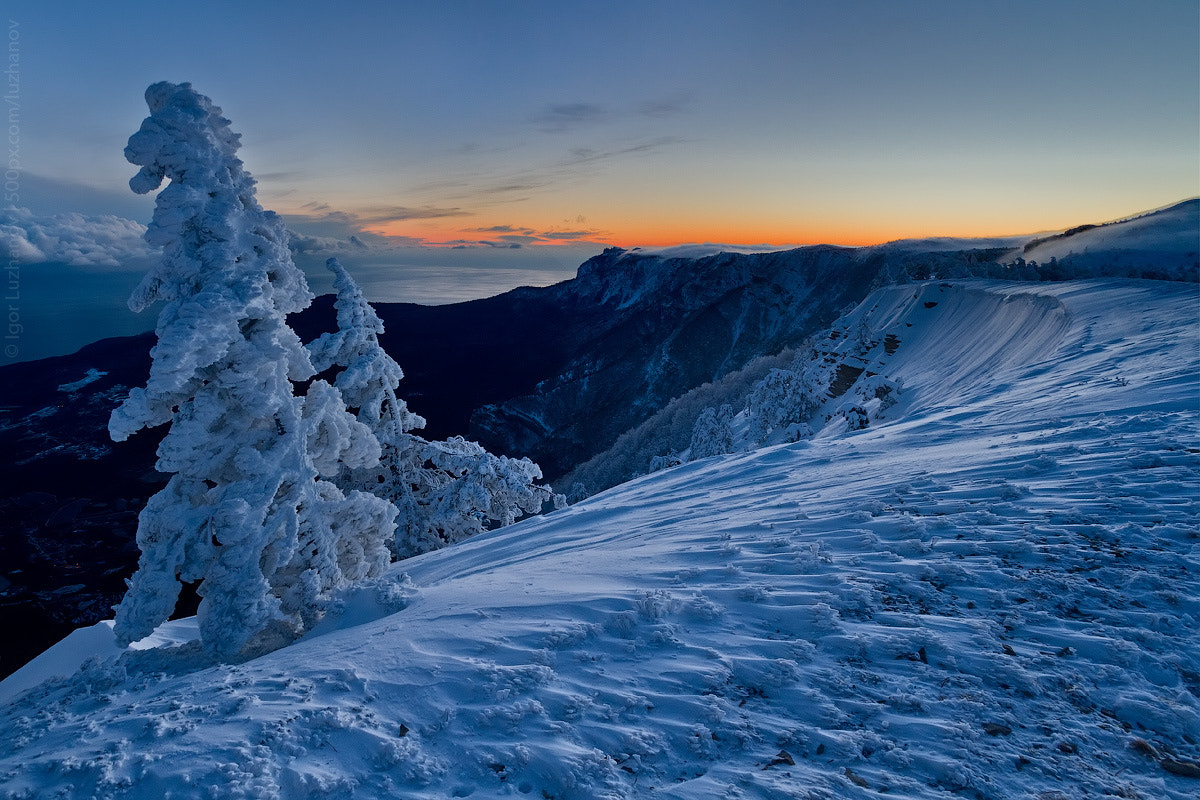 Photograph Winter sunset by Igor Luzhanov on 500px
