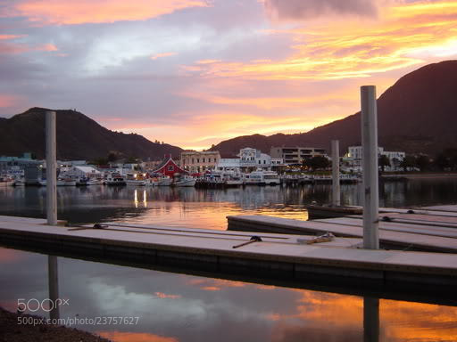 Photograph Picton Sunset by JON TJADER on 500px