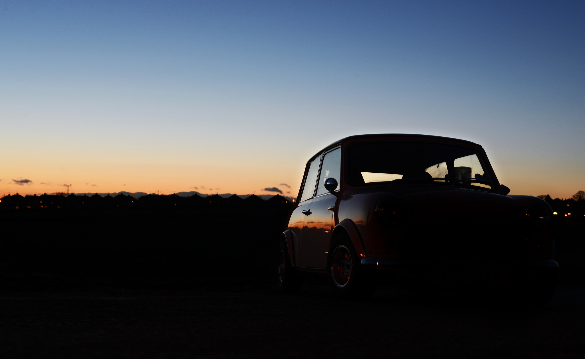 Photograph Sunset With Mini by Shaun Baldwin on 500px