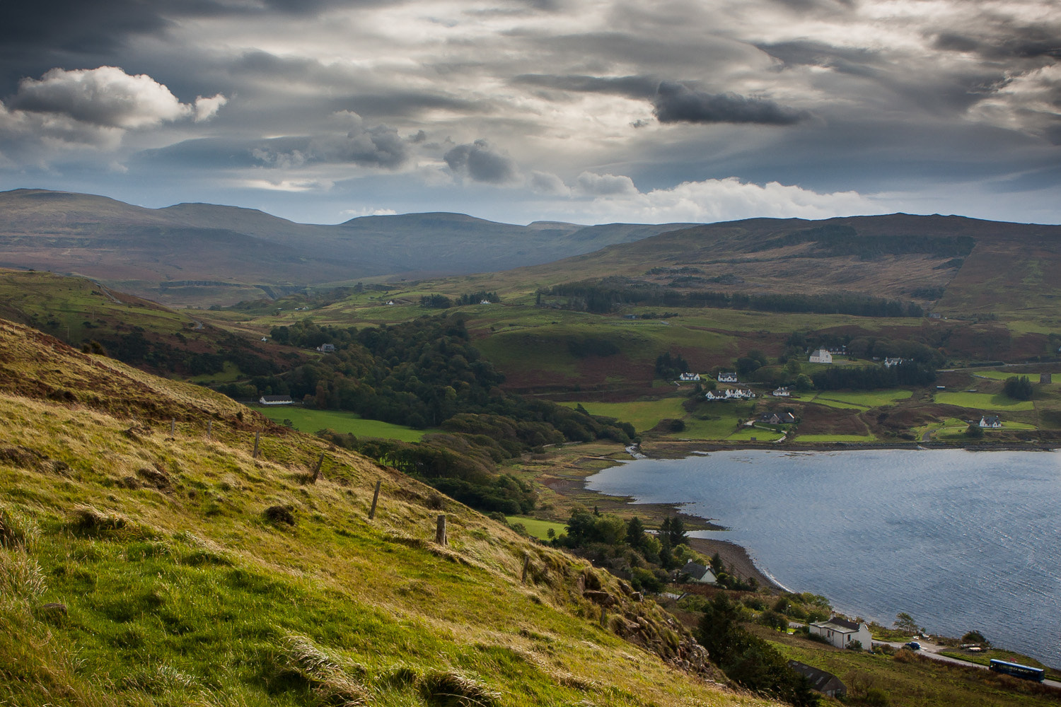 Photograph Clouds over Scotland by Michael Backes on 500px