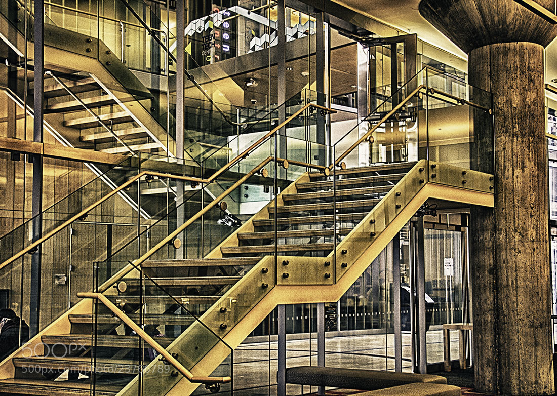 Photograph Library Stairs by Nancy Jordan on 500px