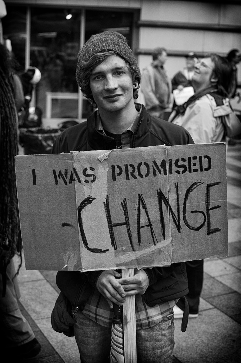 Photograph Occupy Seattle by Damon  on 500px
