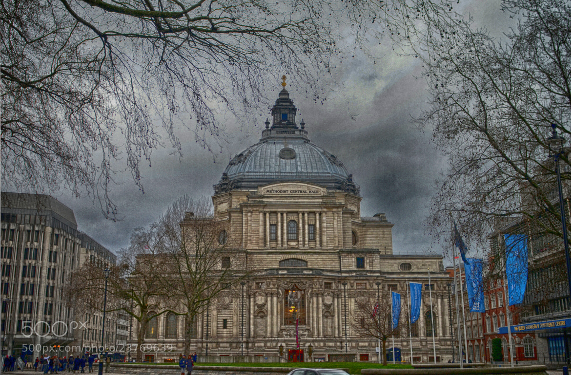 Photograph Methodist Central Hall by Luca Marchesin on 500px