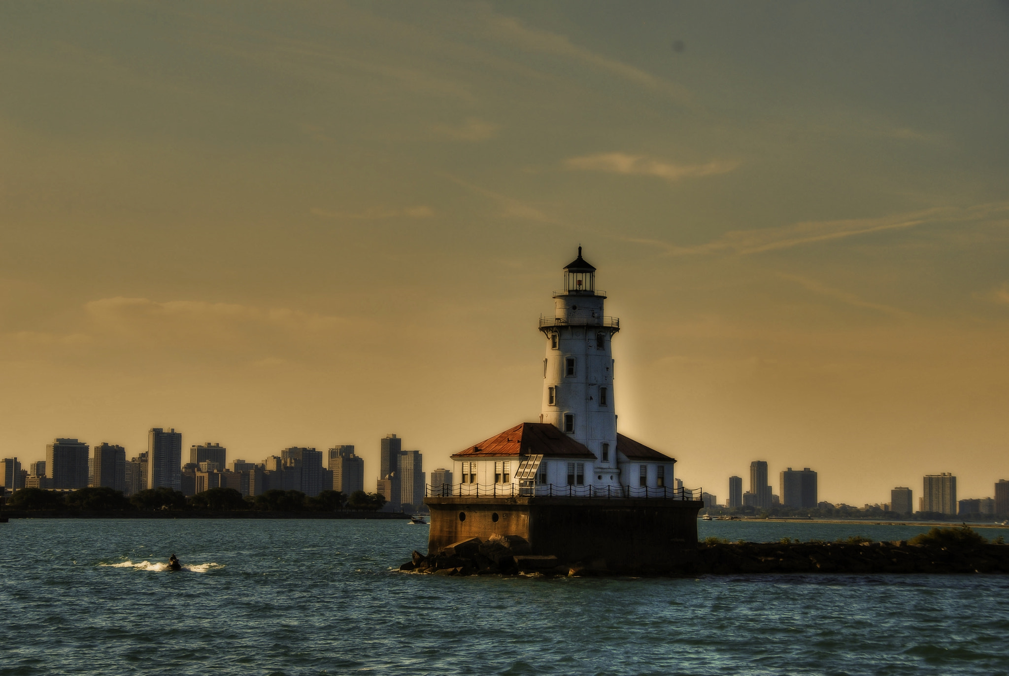 Photograph Chicago Lighthouse by Les Carlton on 500px