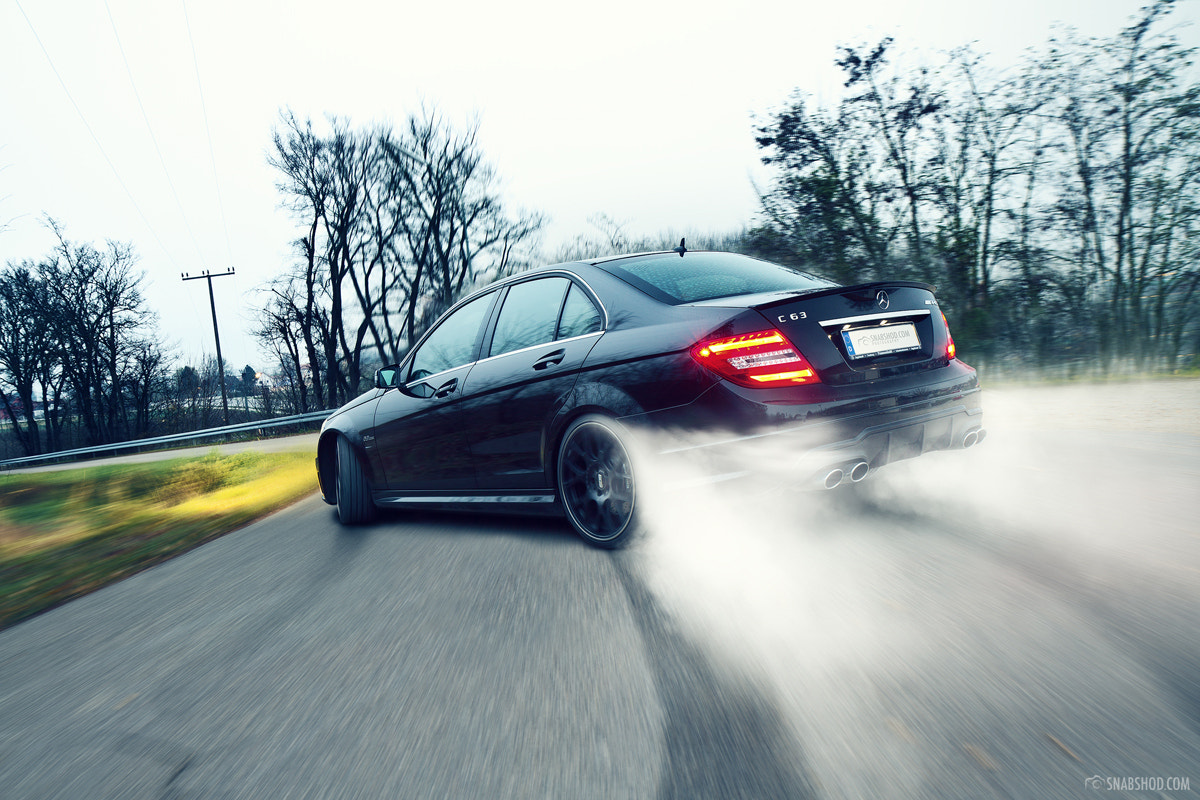Photograph Mercedes-Benz C63 AMG - 3 by Daniel Böswald on 500px