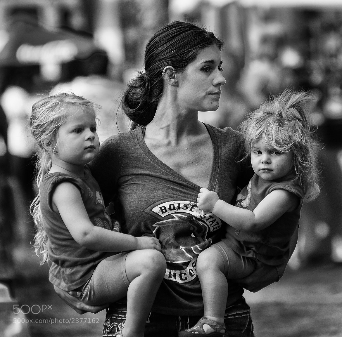 Photograph Three serious women by Chad Estes on 500px