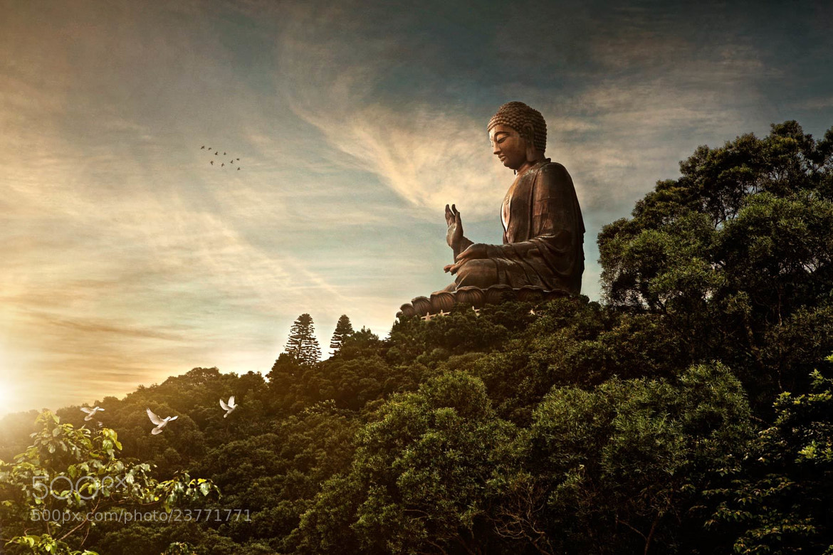 Photograph Big Buddha by Glenn Meling on 500px