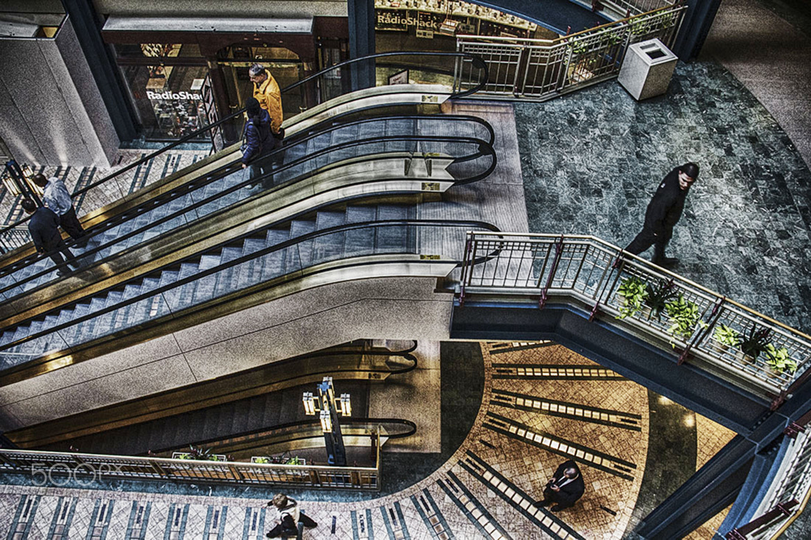 Photograph Escalators by Nancy Jordan on 500px