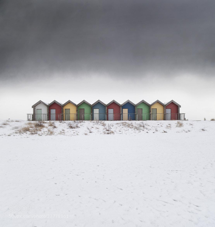 Photograph A Snowy Row by Daniel Hannabuss on 500px