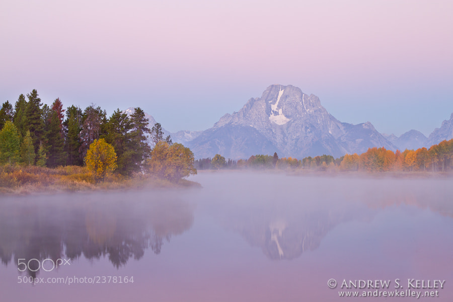 Photograph Foggy Dawn on the Snake River by Andrew Kelley on 500px