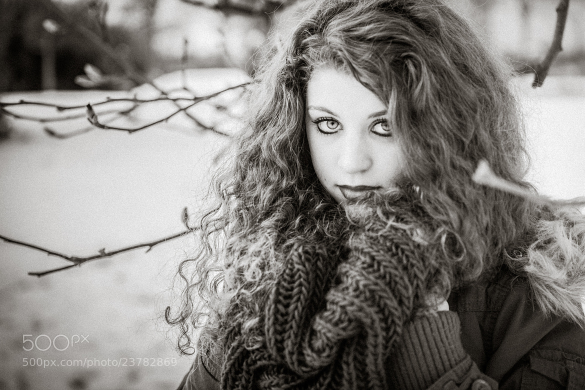 Photograph JOHANNA en hiver by Olivier Lemarchand on 500px