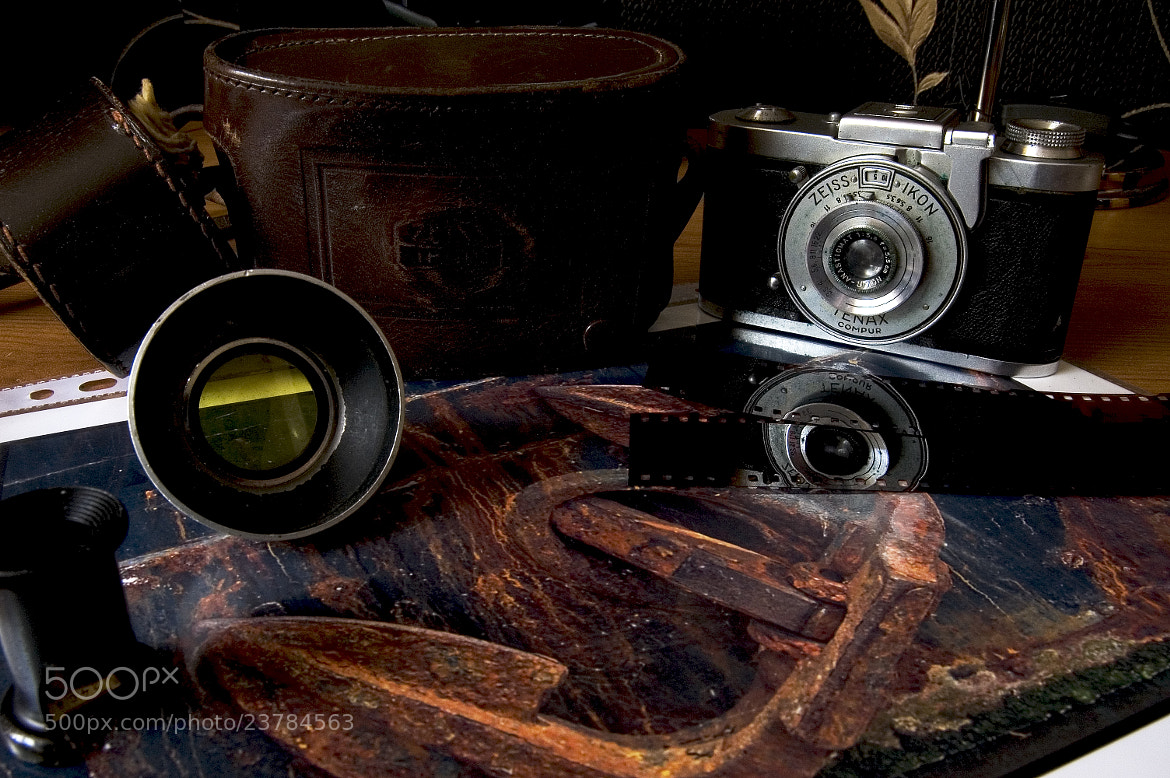 Photograph Old Camera with photograph by George Danby on 500px