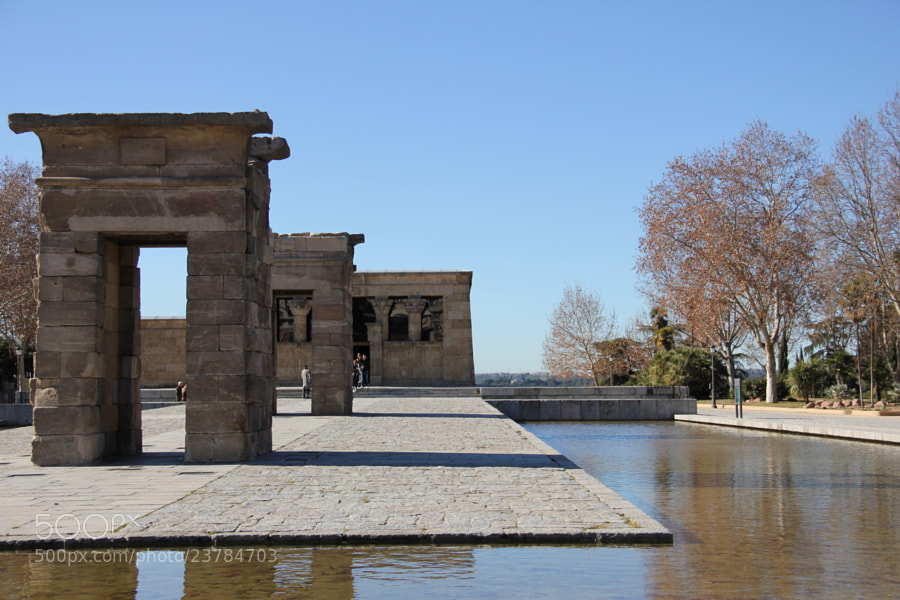 Photograph Templo de Debod by Miguel Parreño Martinez on 500px
