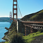 Постер, плакат: Begin Journey Now Golden Gate Bridge