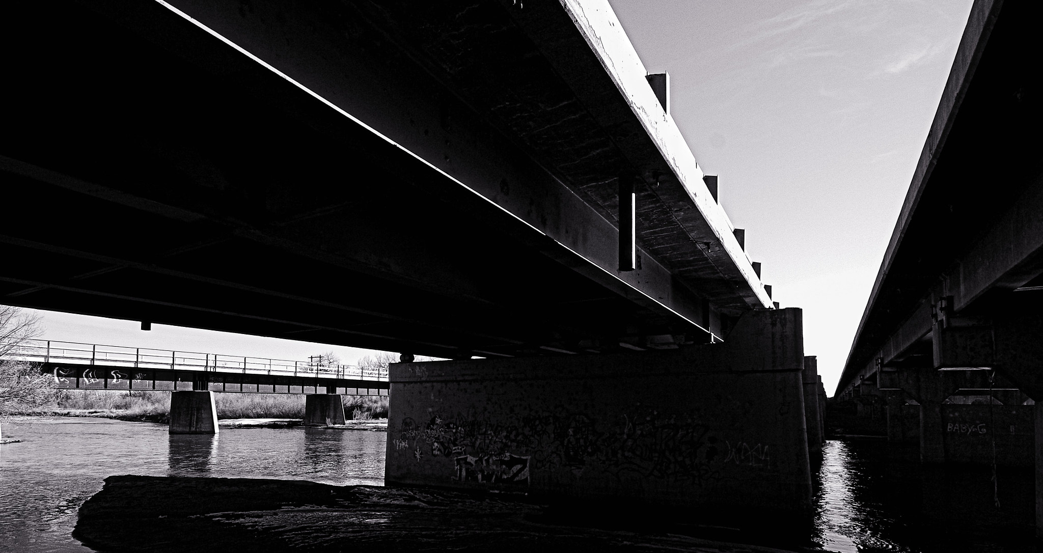 Photograph Highway Bridge Noon by Johnny Gomez on 500px