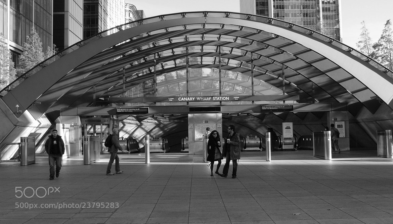 Photograph Canary Wharf Station by Jarek Stroka on 500px