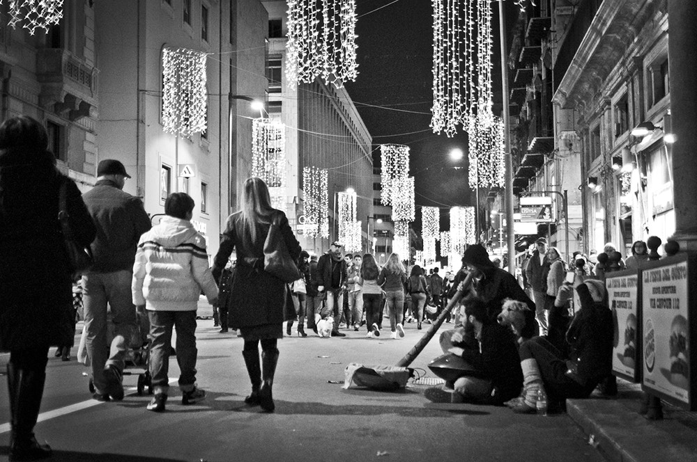 Photograph Christmas in streets by Francesco Zappalà on 500px