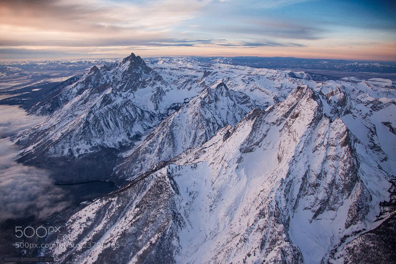 Photograph Grand Teton National Park Aerial by Tristan Greszko on 500px