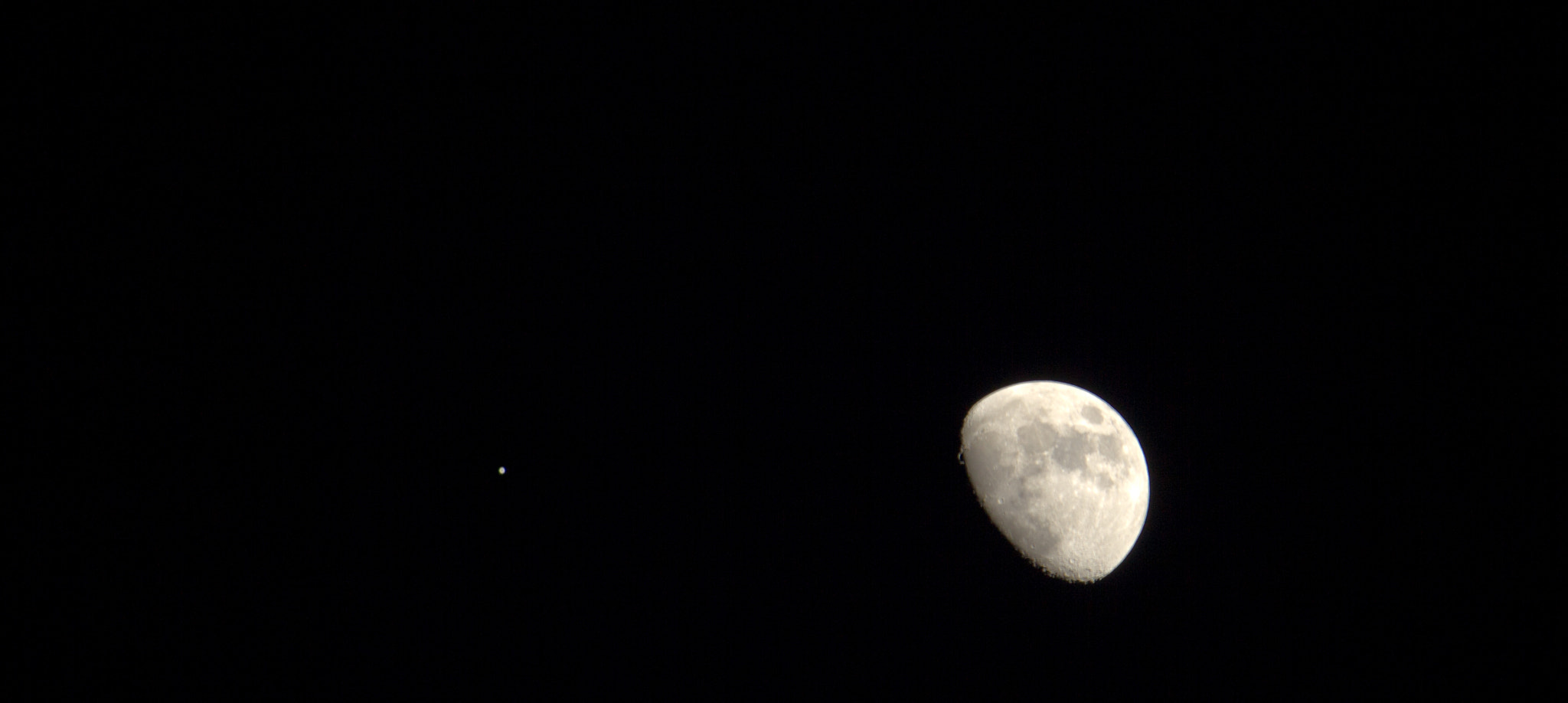 Photograph Jupiter and The Moon by James M on 500px