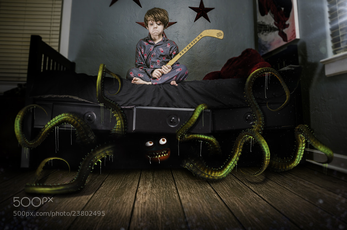Photograph The Monster Above the Bed by Richard Johnson on 500px