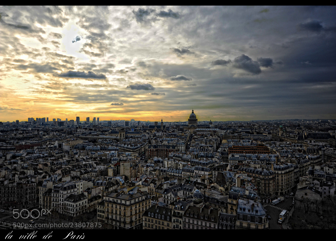 Photograph La ville de Paris by Mayte Weber on 500px