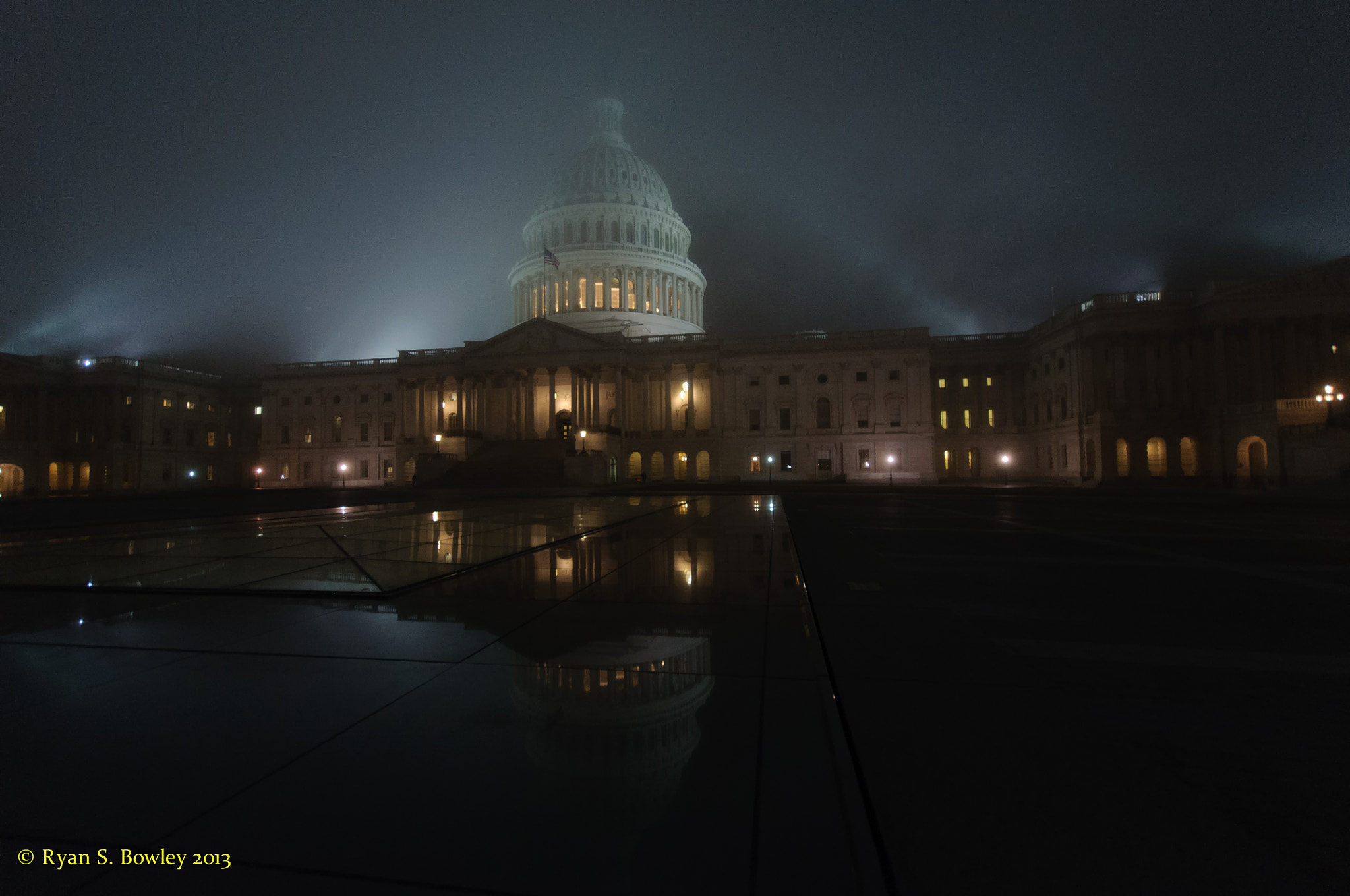 Photograph Capitol Fog #3 by Ryan Bowley on 500px