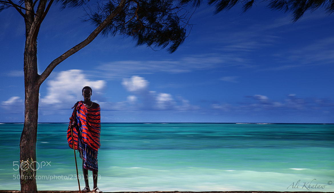 Photograph Masai at the beach in Zanzibar by Ali Khataw on 500px