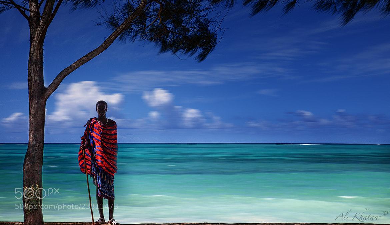 Photograph Masai at the beach in Zanzibar by Ali Khataw on 500px