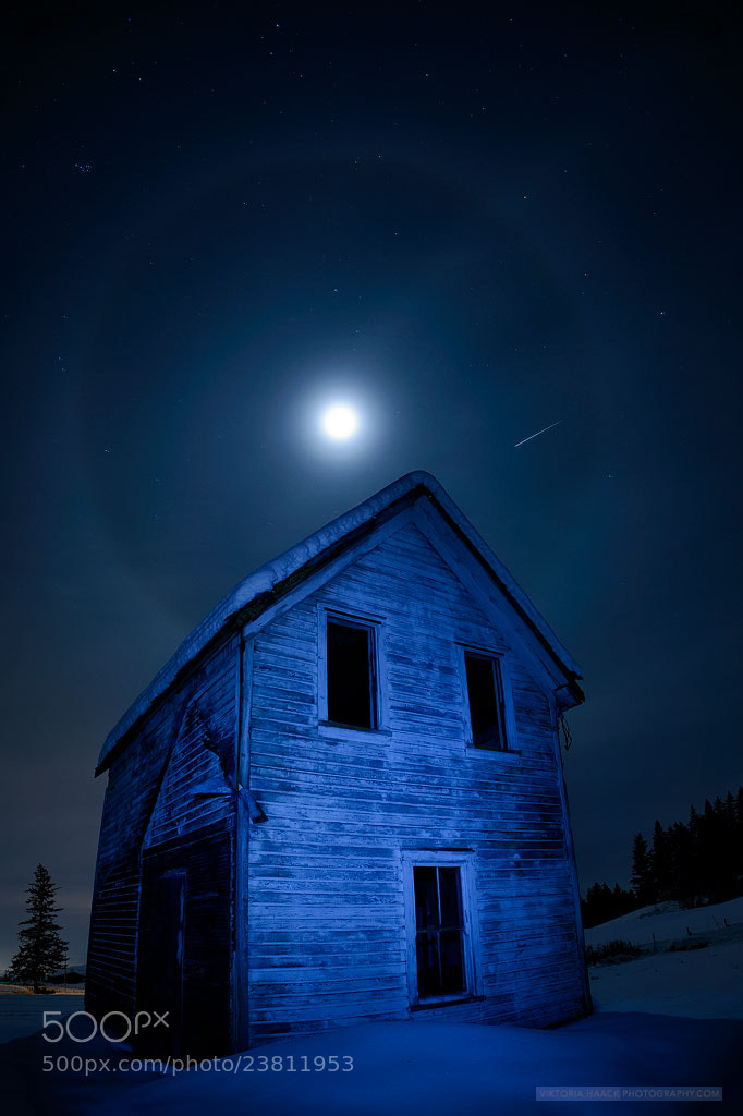 Photograph Blue moon by Viktoria Haack on 500px