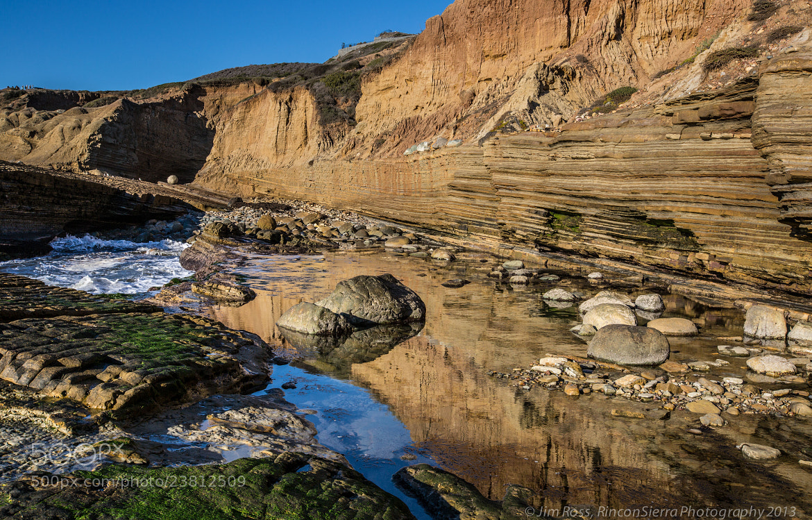 Photograph Turbidite Wall Reflection!!! by Jim Ross on 500px