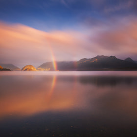 Rainbow's Birth by Dylan Toh  & Marianne Lim (everlookphotography)) on 500px.com