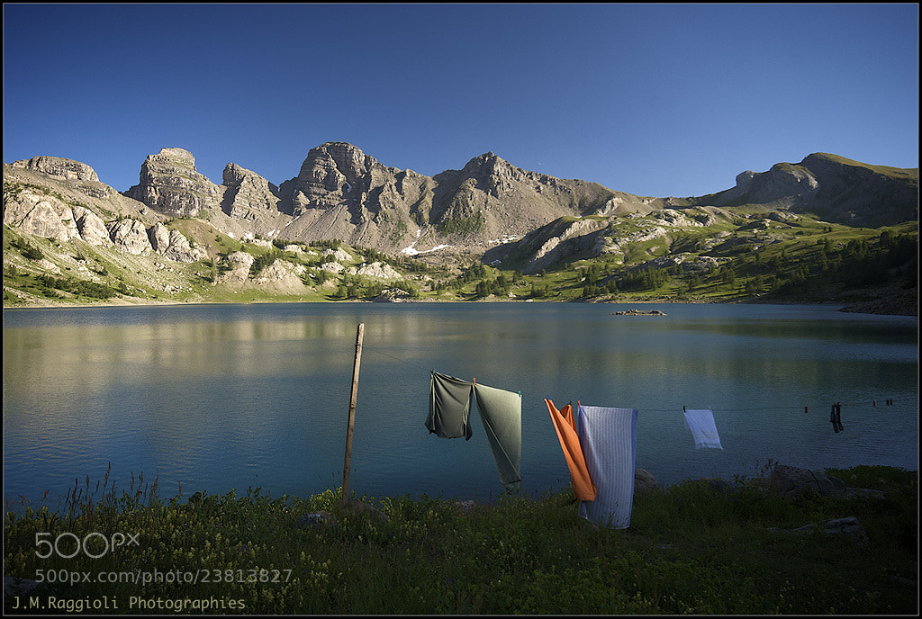 Photograph Allos Lake by Jean-Michel Raggioli on 500px