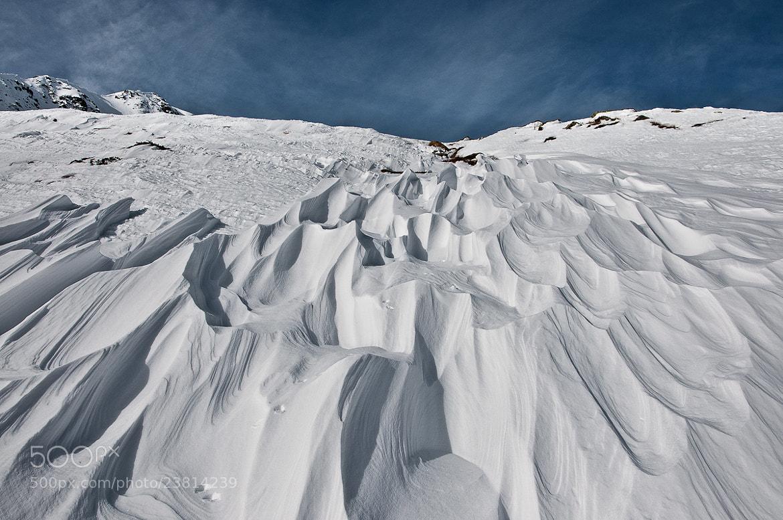 Photograph Onde... di neve by Alessio Pellegrini on 500px