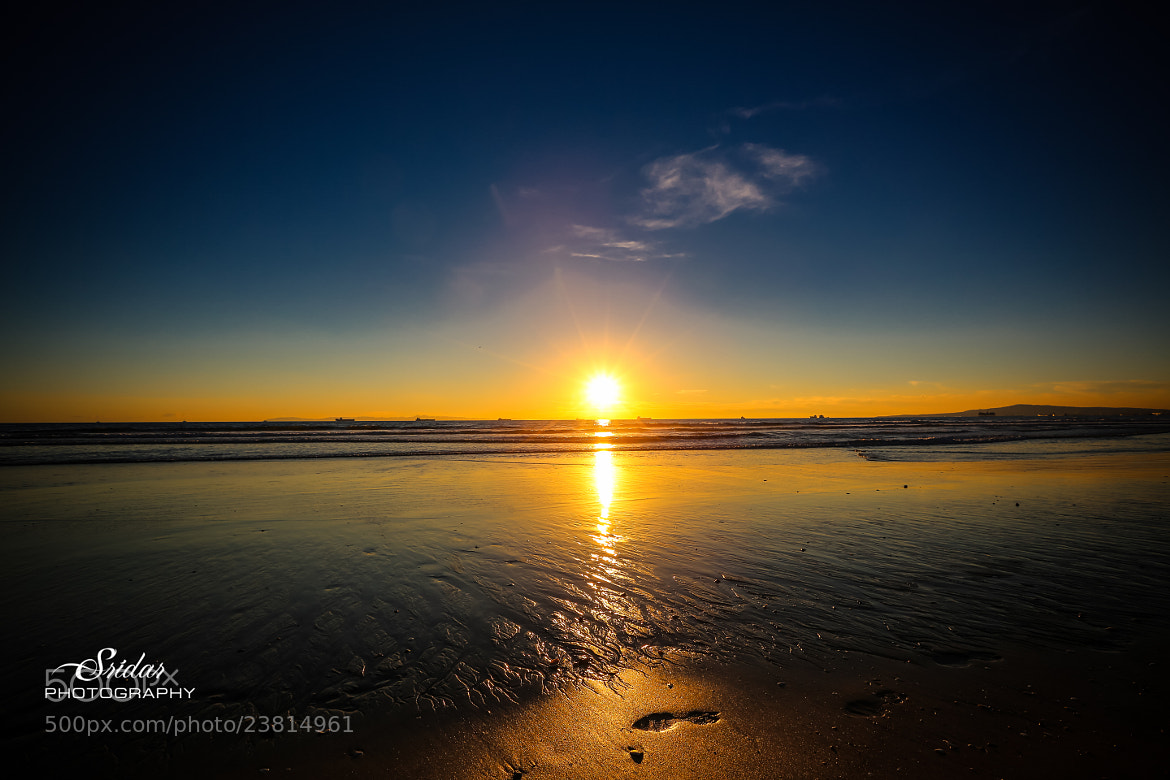Photograph Sun Set Beach  by Sridar Elumalai on 500px